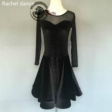 2017 Latin Dance Dress Women Professional Latin Skirt Samba Dance Latin Salsa Dresses Tango Dress For Latin Dance Dress Women