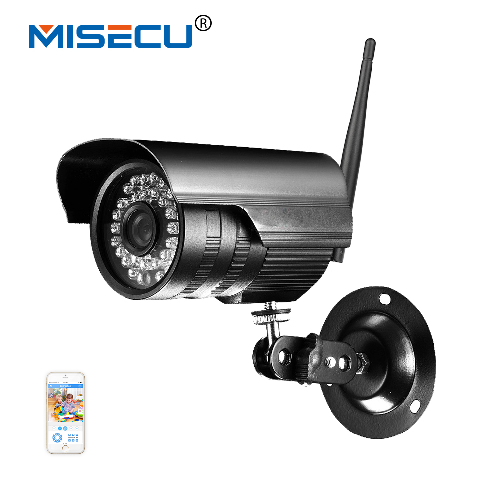 MISECU New ip camera 720p 1280*720P onvif IP cctv Wifi camera P2P Outdoor 36IR Security network IP CCTV Camera smart phone XMEye wifi ipc 720p 1280 720p household camera onvif with allbrand camera free shipping