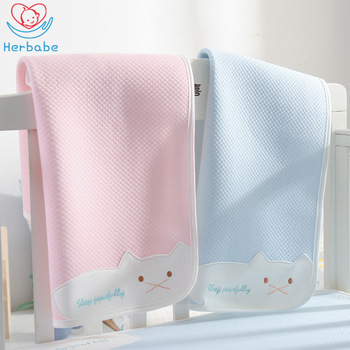 Herbabe Baby Changing Pads 4 Layer Waterproof Diaper Mat for Newborn Infant Nappy Mattress Care Products Wholesale