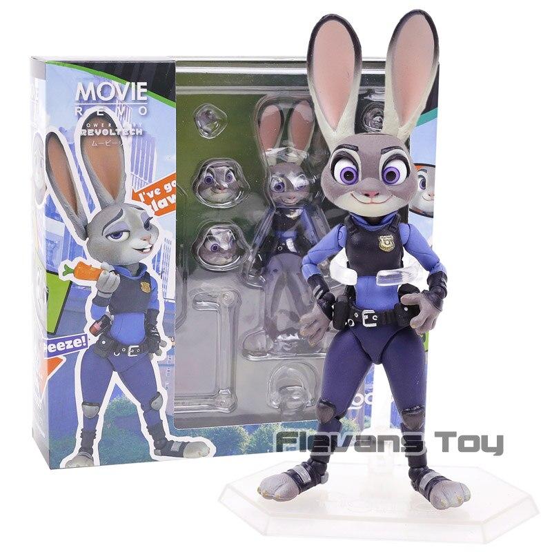 Revo Movie Series Zootopia Judy Hopps Rabbit Bunny PVC Action Figure Collectible Model Toy