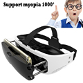 Virtual Reality 3D Movie Game Helmet Box VR BOX Headset 120 Degree Immersive Glasses Headmount For iOS Samsung Xiaomi Smartphone