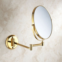 Round Wall Dual Makeup Mirror