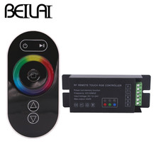 BEILAI DC 12-24V 18A Touch LED RGB Controller RF Wireless Remote Control For SMD 5050 2835 3528 RGB LED Strip Light
