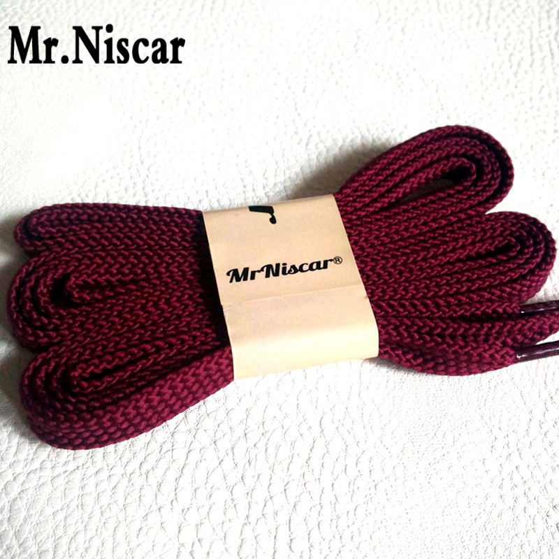 Mr.Niscar 1 Pair Purple Red Polyester Flat Shoelaces Sneakers Double Layer Shoestring Fashion Casual Shoe Laces String Rope Cord lucamino sports wooden wing chun butterfly double swords training knife bart cham dao red black colors 1 pair wholesales