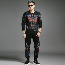 Track 2017 Men s Fashion Design Trends Mens Hoodie Mens Tracksuit Leisure Large Size Is