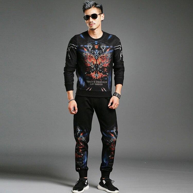Suits Track Suit 2017 font b Men s b font Fashion Design Trends font b Mens