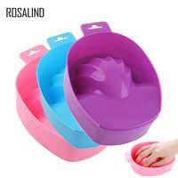 ROSALIND 1PCS Hand Wash Remover Soak Bowl DIY Salon Nail Spa Bath Nail Art Treatment Remove Manicure Tools