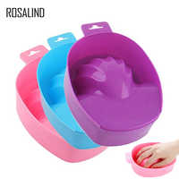 ROSALIND 1PCS Hand Wash Remover Soak Bowl DIY Salon Nail Spa Bath Nail Art Treatment Remove Manicure Tools