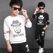 Children s clothing spring big boys font b shirt b font pant 2pcs font b kids