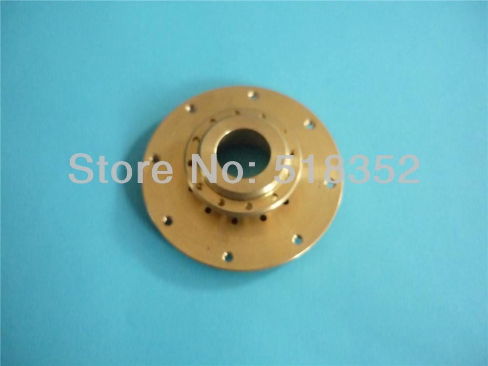 ФОТО X187B370H03 Mitsubishi Water Nozzle Holder in Brass For Mitsubishi WEDM-LS Machine DWC-HA, SX, CX, FX30