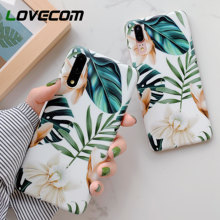 LOVECOM Vintage Flower Banana Leaf Phone Case For Huawei Mate 30 Lite P20 P30 Pro Lite Mate 20 Lite Soft IMD Back Cover Gift(China)
