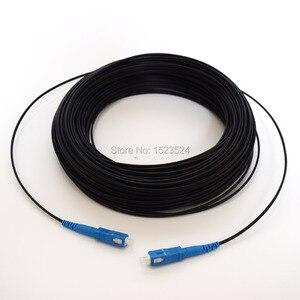 Image 2 - Cable de fibra óptica de 50 M FTTH, Cable de conexión SC a SC Simplex, monomodo, SC SC, 50 metros, puente de fibra óptica SM