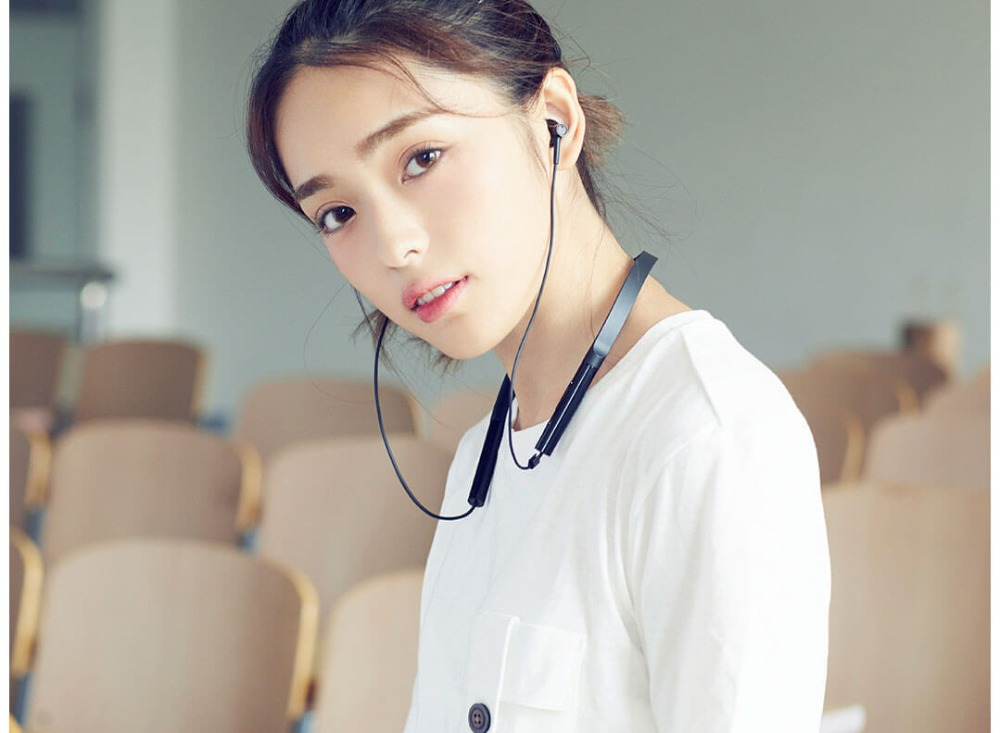 Original Xiaomi Mi Necklace Bluetooth Earphone Wireless Earbuds with Mic and In-line Control Youth Version (15)