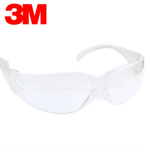 3M 11228 Safety Glasses Virtua Protective Eyewear Spectacles Anti UV/Splashes Protective Clear Uncoated Lens G2306