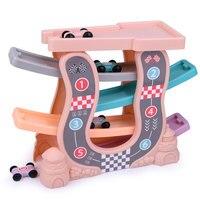 Boy Glider Children's Railway Car Babies 3 6 years old boys toys 4 year Interesting Mini Railway Cars
