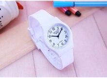 New Fashion Simple Transparent Quartz Watch Waterproof Silicone wristWatch Students Water Resistant Children Analog montre Clock