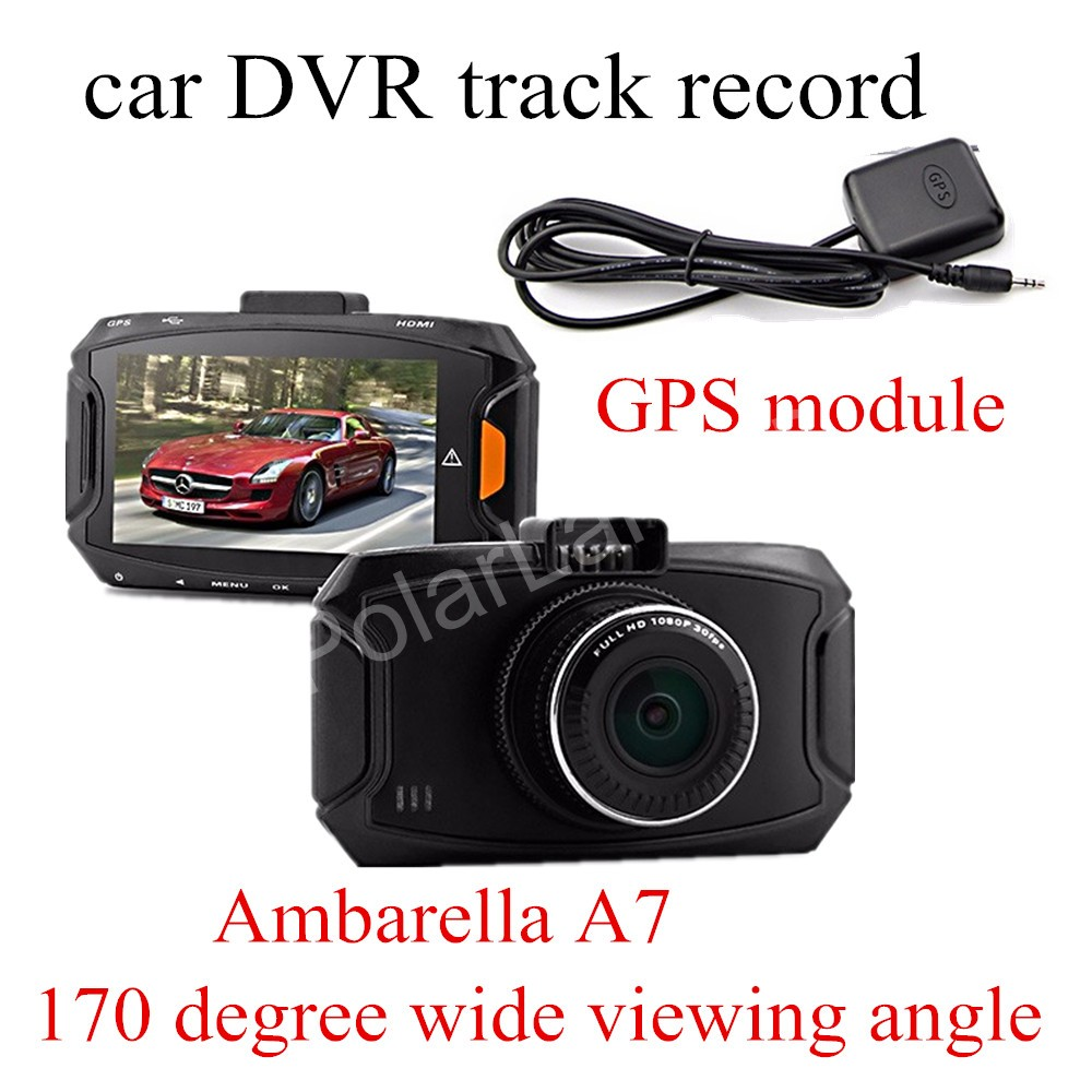factory price sale 2.7 inch Ambarella A7 Car DVR GS90A Camera HD DVR Recorder with Night Vision GPS module gps навигатор lexand sa5 hd