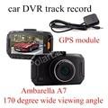 factory price sale 2.7 inch Ambarella A7 Car DVR GS90A Camera HD DVR Recorder with Night Vision GPS module