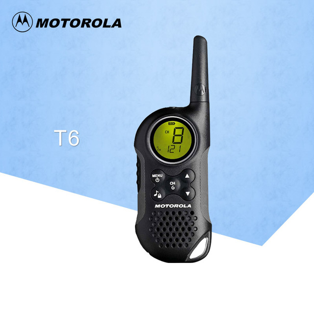 US $68 95 |Suitable for Motorola walkie talkie T6 compact and stylish 0 5W  UHF Frequency Portable Hf Transceiver Ham two way Radio-in Walkie Talkie