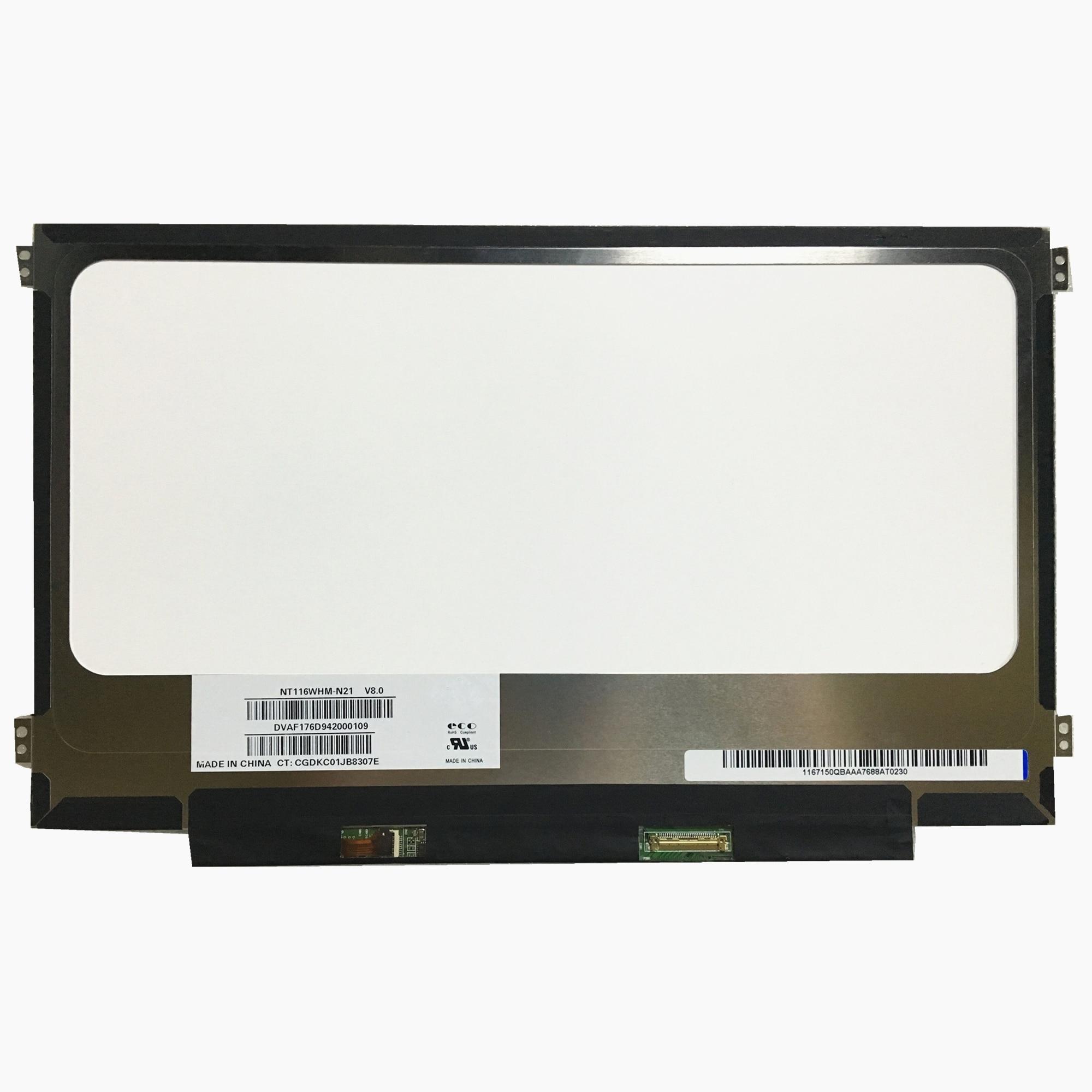 Free Shipping NT116WHM N21 NT116WHM N21 for Acer ES1 131 N15Q3 11 6 Slim Laptop Lcd