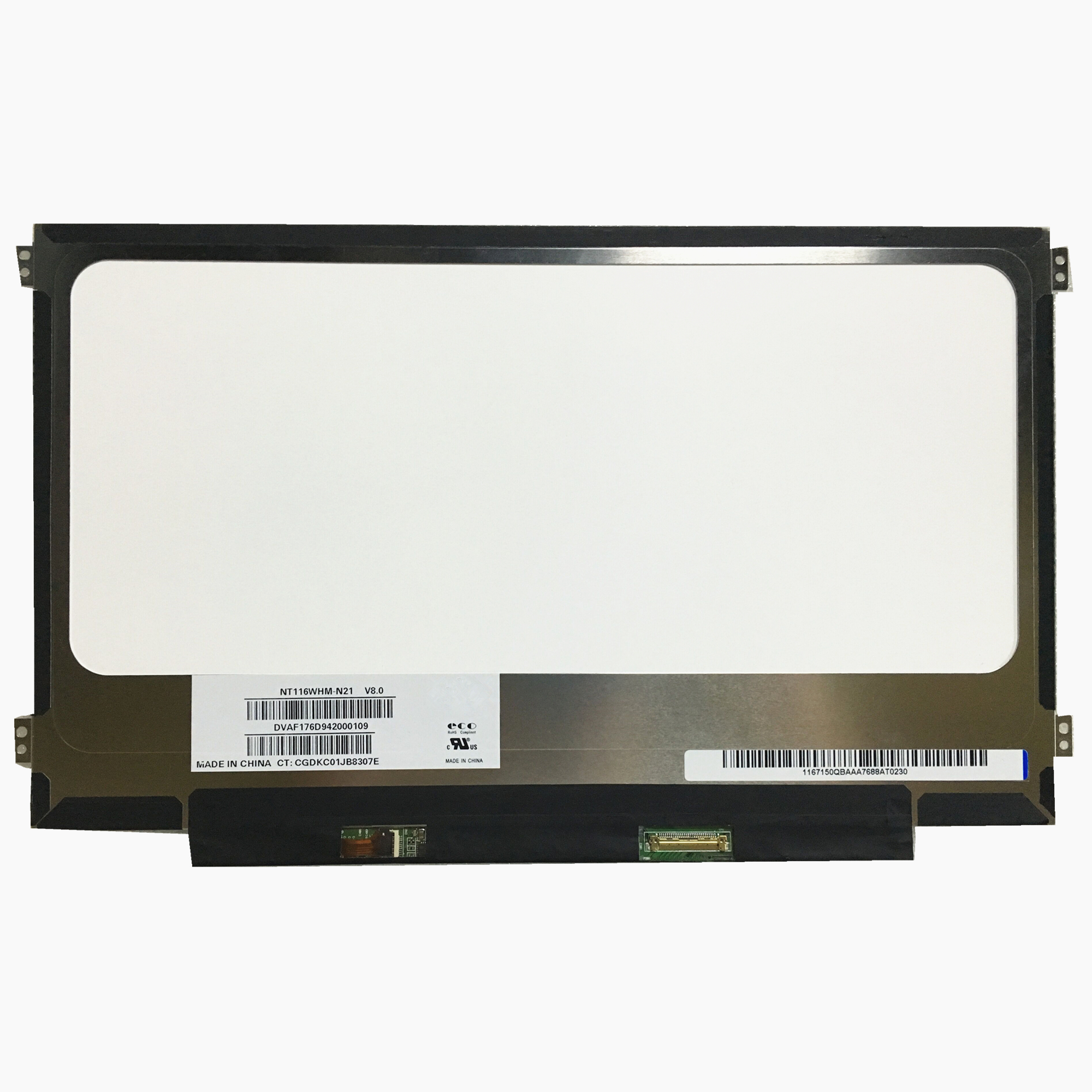 Free Shipping NT116WHM-N21 NT116WHM N21 For Acer ES1-131 N15Q3 11.6''Slim Laptop Lcd Screen 1366*768 EDP 30 Pins
