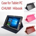 Original Chuwi HiBook HiBook Utra Fino Estojo De Couro Da Aleta Para Chuwi 2016 Nova 10.1 polegada Tablet PC, Caso Chuwi Caso Livro Oi HiBook