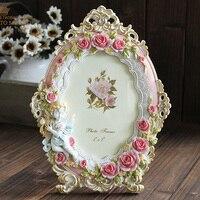 Frete grátis, de alta qualidade, 7 polegada caixa de quadro da foto do vestido de casamento do vintage Da Moda real rústico moldura anjo rosa, presente de Natal