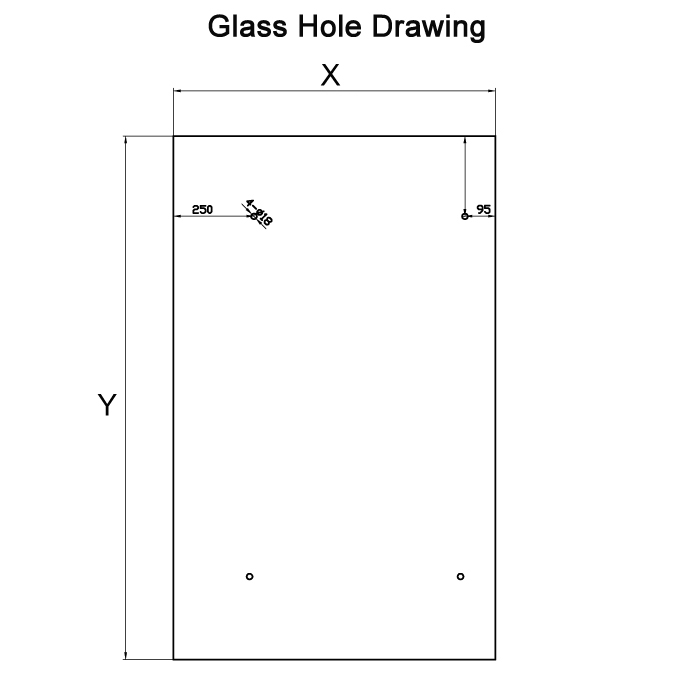 glass canopy hole drawing