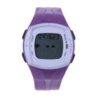 Popular Wireless Monitores suave correa del pecho del reloj correa de la aptitud reloj deportivo con luz de fondo despertador