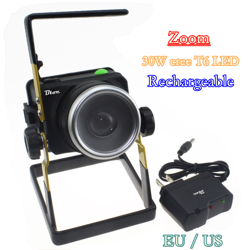 2016 rotating zoom portable LED floodlight 30W