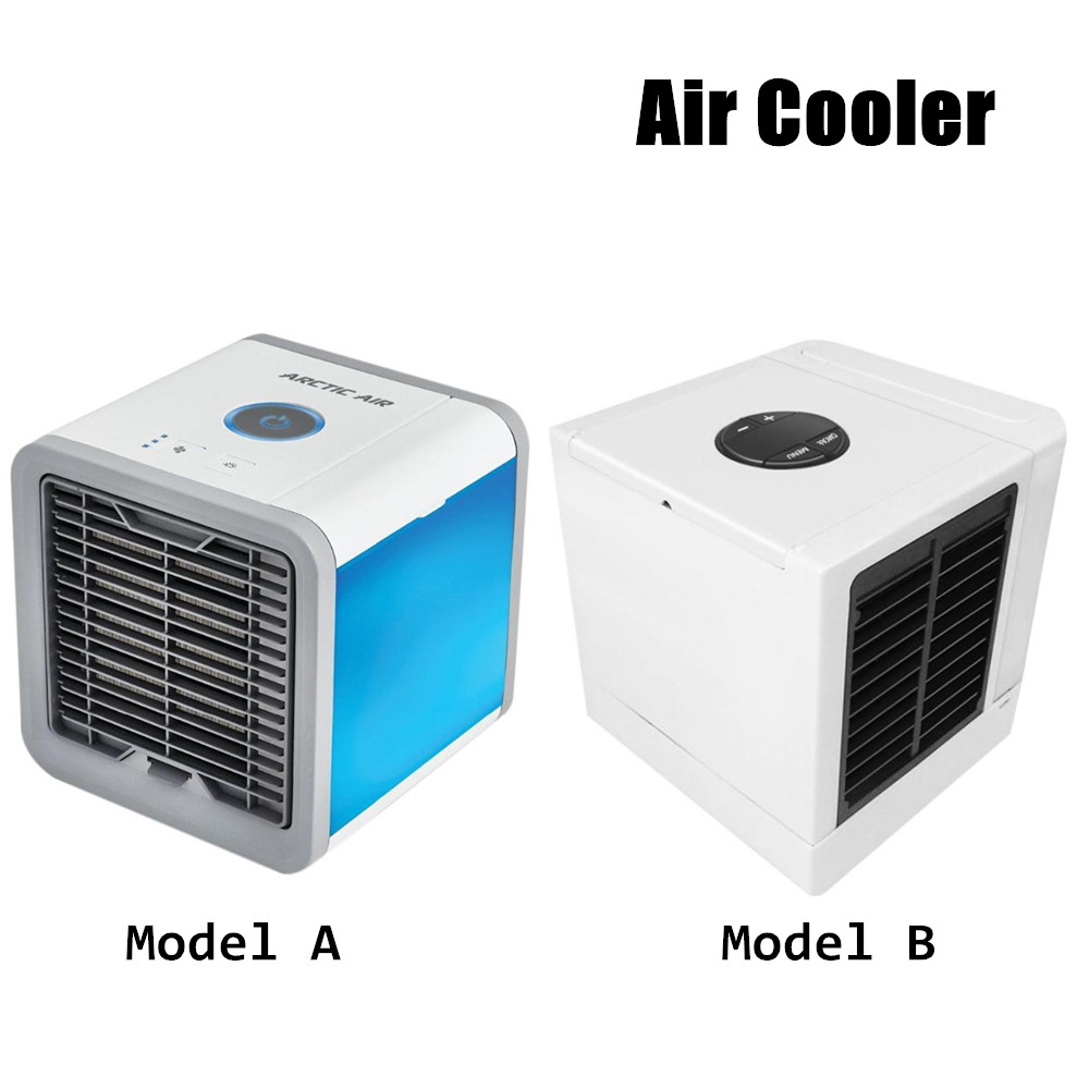 8W Air Cooler Arctic Air Personal Space Cooler Quick Easy to Cool Space Home Office Desk Air Conditioner Air Cooler Device