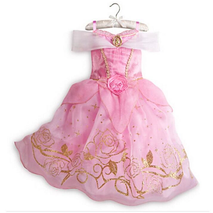 CNJiaYun-Christmas-Cinderella-Girls-Dress-Snow-White-Princess-Dresses-For-Girls-Rapunzel-Aurora-Children-Cosplay-Kids-Clothing-2