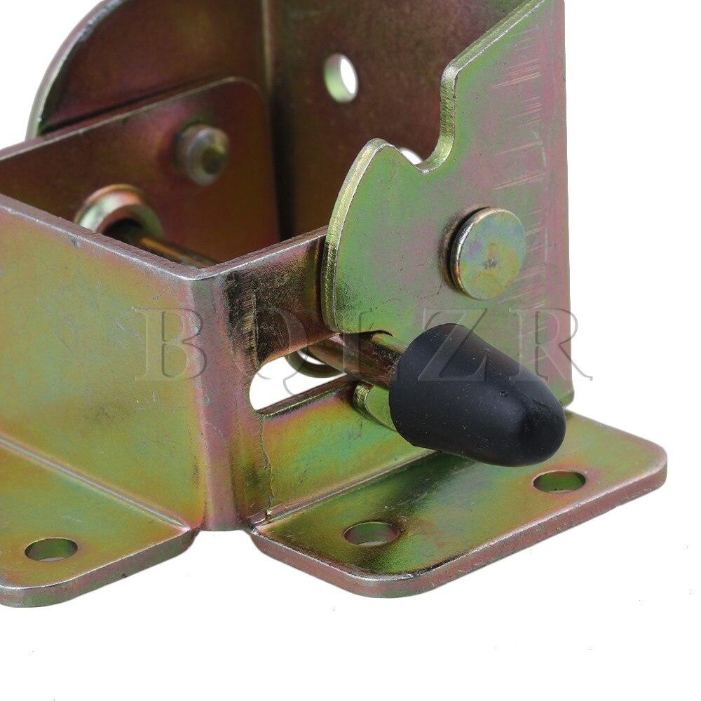 BQLZR 4 шт. приставной столик кровать ног Складная сторона тормоза Поддержка с винтом
