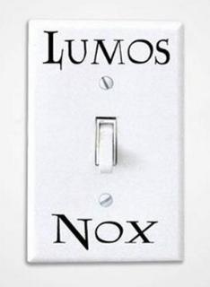 Naklejka Lumos Nox