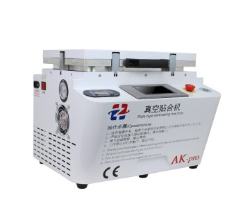 AK Pro Vacuum Laminating Machine Used to Repair Smartphone LCD Screens Using OCA Glue
