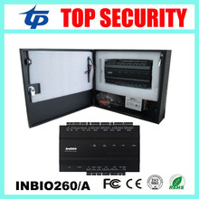 ZK inbio260 2 doors TCP/IP biometric fingerprint and RFID card access control panel system control board with power supply box