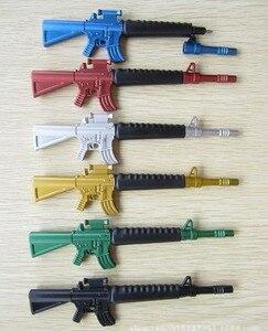 Image 4 - 30 teile/los Kreative spielzeugpistole kugelschreiber als schule stationären, maschinenpistole design kugelschreiber für kinder