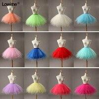 Economici Flower Girl Mini Rainbow Sottogonna In Tulle Ragazze Puffy Crinolina Sottogonne Per Abiti Petticoat Bambini Sotto La Gonna Corta