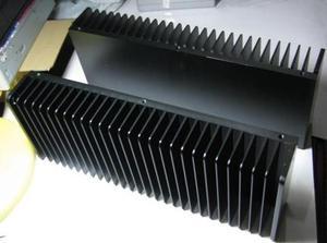 Алюминиевый теплоотвод E для усилителя, 1 шт., 300 мм * 200 мм * 50 мм
