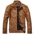 New Arrive Brand Motorcycle Genuine Men's Leather Jacket, Jaqueta De Couro Masculina Men Jaket
