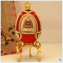 The red horse really special offer eggshell rotary recreation egg Music Box Christmas heart boyfriend girlfriend