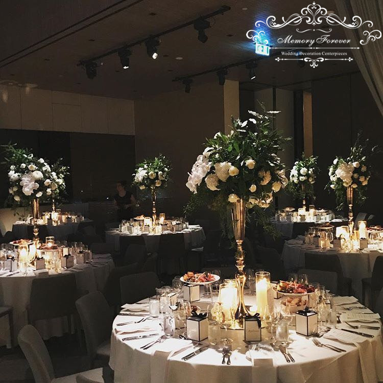 Wedding gold silver white decoration bling centerpiece marriage wedding gold silver white decoration bling centerpiece marriage center table decor flower vase event flower arrangements in party diy decorations from home mightylinksfo