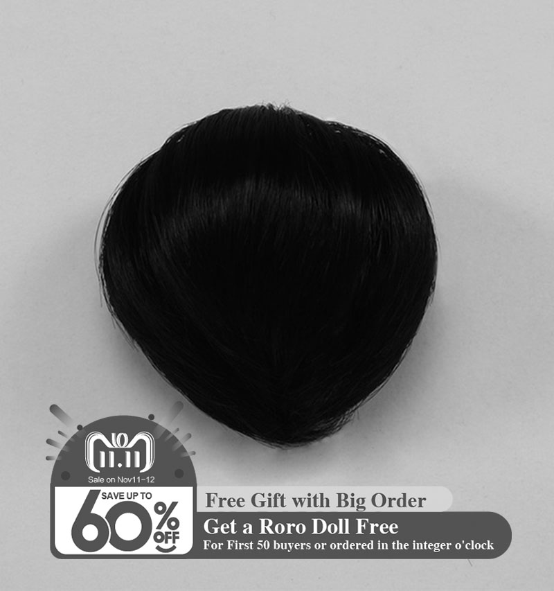 Wig For Doll BJD Dollshe Craft shinee David kuncci hair bjd size 4.5-6 inch high-temperature wigFid bjd sd doll AccessoriesL04B