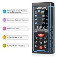 Handheld Laser Rangefinder Digital Laser Distance Meter Color Display Laser Range Finder Diastimeter Area Volume Measurement
