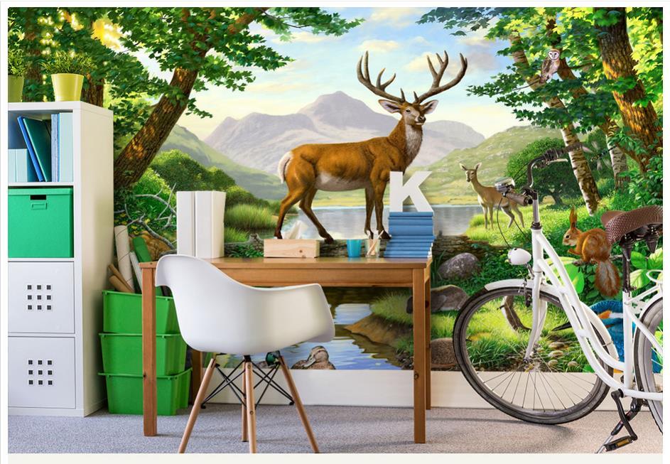 ღ ღPersonnalisé 3d photo papier peint 3d peintures murales papier ...