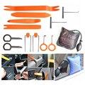 PDR Ferramentas Ferramentas de Serralheiro KLOM Bomba Wedge Air Wedge Carro Aberto Fechadura da porta Com Kits de Instalação de Som Do Carro Ferramenta de Remoção de Rádio Do Carro