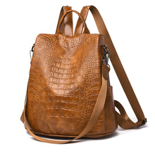 2020 New Fashion Women Backpacks School Bag For Teenagers Backpack Ladies PU Leather Bags Luxury Designer High Quality Backpack 2017 pmsix new chinese style women luxury gold designer backpacks embossed pu leather bags p940004