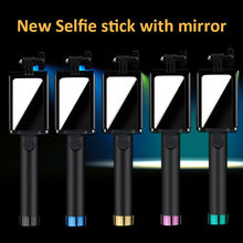 Anti-shedding monopod Selfie Sticks extendable wired selfie stick monopod for iPhone for Samsung 4.0-6.5inches 18-80mm