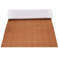 90x240cm 6mm Self Adhesive EVA Foam RV Touring Car Mat Teak Sheet Boat Decking Floor Yacht