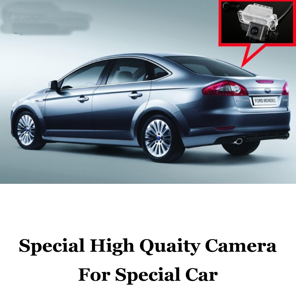 Car Camera For Ford For Mondeo MK4 2007~2013 High Quality Rear View Back Up Camera For Friends to Use  CCD with RCA Car